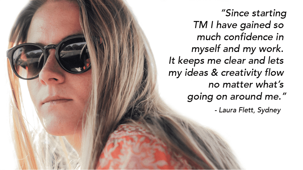 Laura on TM